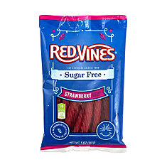 Red Vines Sugar Free Strawberry Licorice