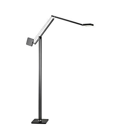 "Adesso® ADS360 Cooper LED Floor Lamp, 69""H, Matte Black"