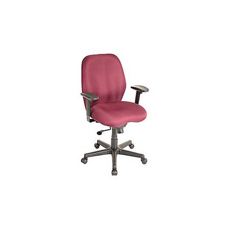 Eurotech Multifunction Task Chair, Burgundy/Black
