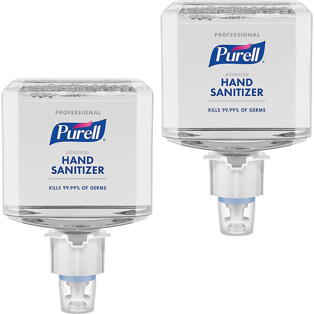 PURELL� ES6 Professional Advanced Hand Sanitizer Foam - 40.6 fl oz (1200 mL) - Kill Germs - Hand - Clear - Dye-free, Fragrance-free, Hypoallergenic, B -  GOJ645402
