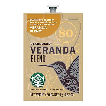 MARS DRINKS™ Starbucks Freshpack Coffee, Veranda Blend, 0.32 Oz, Pack Of 80