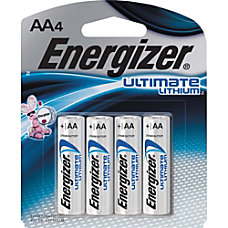 Energizer Ultimate L91SBP 4 General Purpose