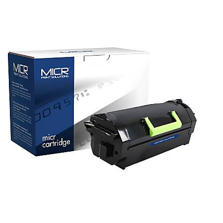 Clover Technologies Group™ MCR811M (Lexmark™ 52D1X00 and Lexmark 52D0XA0) Extra-High Yield Remanufactured Black MICR Toner Cartridge