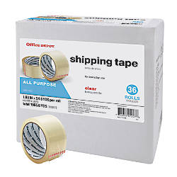 Office Depot Brand Shipping Tape Multipurpose