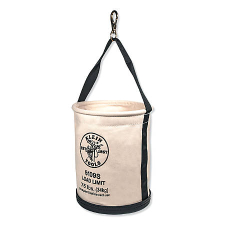 Wide-Opening Straight Wall Buckets, 1 Compartment, 15 in