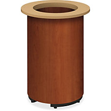 HON Preside Laminate Cylinder Base Cylindrical