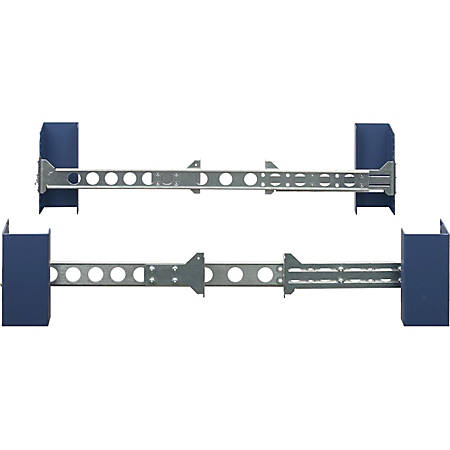 Rack Solutions Mounting Rail for Server - Zinc Plated