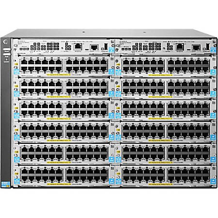 HPE 5412R zl2 Switch - Manageable - Refurbished - 3 Layer Supported - Modular - 7U High - Rack-mountable