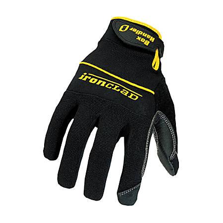 Ironclad Box Handler Gloves, Extra-Large, Black