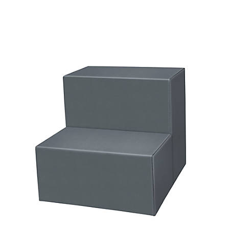 Marco 2-Step Seating Stool, Graphite