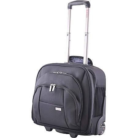 "Codi Mobile Lite 15.4"" Wheeled Case - Ballistic Nylon, Nylon Interior - Handle, Trolley Strap - 14.5"" Height x 16"" Width x 9"" Depth"