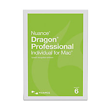 Nuance Dragon Professional Individual v6 For