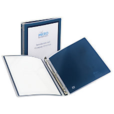 Avery Flexi View Round Ring Binders