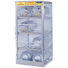 Justrite Horizontal Cylinder Storage Locker 8