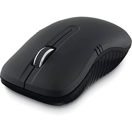 Verbatim® Commuter Series USB Type A Wireless Notebook Optical Mouse, Matte Black