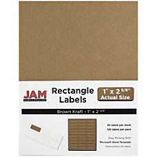 JAM Paper Mailing Address Labels 4513701