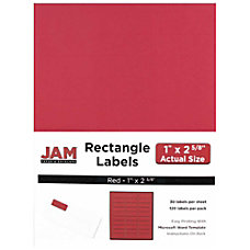JAM Paper Mailing Address Labels 4514939