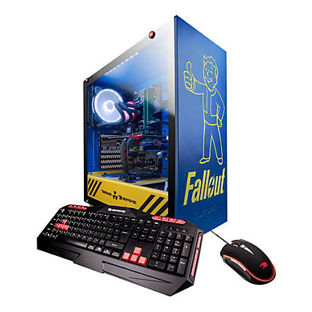 iBUYPOWER SE Fallout Essential Gaming Desktop PC, 9th Gen Intel® Core™ i5, 16GB Memory, 1TB Hard Drive/240GB Solid State Drive, Windows® 10 Home, GeForce GTX 1060