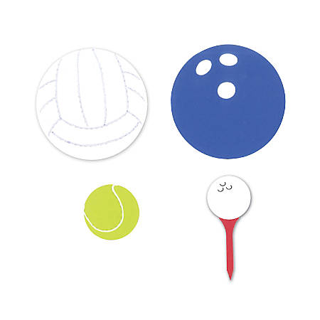 Sizzix® Bigz™ Dies, Bowling, Golf, Tennis And Volleyball Sports Balls