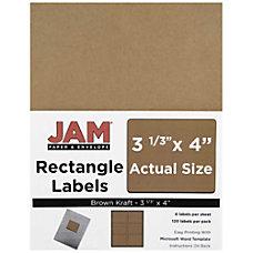 JAM Paper Mailing Address Labels 4513702