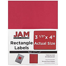 JAM Paper Mailing Address Labels 14516067
