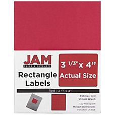 JAM Paper Mailing Address Labels 14516067