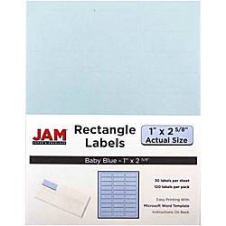 JAM Paper Mailing Address Labels 4052894