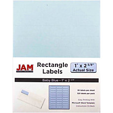JAM Paper Mailing Address Labels 4052894