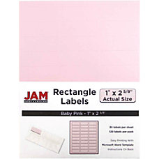 JAM Paper Mailing Address Labels 4052895