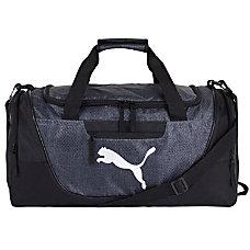PUMA Contender Duffel Bag Dark GraySilver