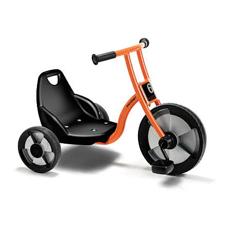 "Winther Circleline Easy Rider Tricycle, 22 1/2""H x 20 1/16""W x 32 11/16""D, Orange"