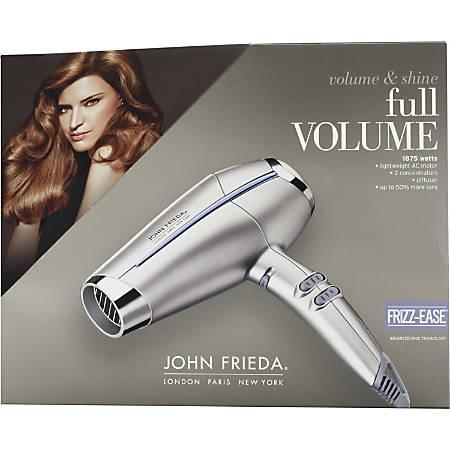 John Frieda Hair Dryer - 1875 W - Ionic - Handheld - AC Supply Powered