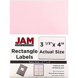 JAM Paper Mailing Address Labels 4052899