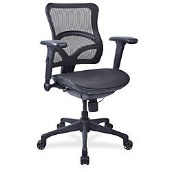 Lorell Full Mesh Mid back Chair