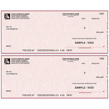 "Custom Continuous Multipurpose Draft Checks For DACEASY®, 9 1/2"" x 3 1/2"", 1 Part, Box Of 250"
