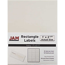JAM Paper Mailing Address Labels 17966071