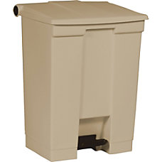 Rubbermaid Step On Wastebasket 18 gal