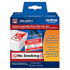 Brother DK 2251 Continuous Length Tape