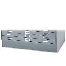 Safco Closed Base For 5 Drawer