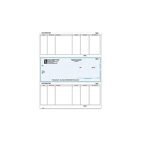 "Custom Laser Accounts Payable Checks For MAS90/MAS200/MAS500®, 8 1/2"" x 11"", 2 Parts, Box Of 250"