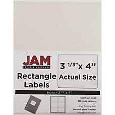JAM Paper Mailing Address Labels 17966069