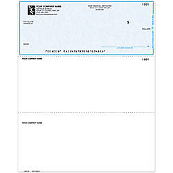 Laser Multipurpose Voucher Checks Without Lines