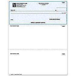 Laser Multipurpose Voucher Checks Direct Deposit