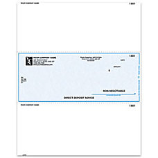 Laser Direct Deposit Advice Checks For