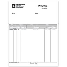 Laser Invoice For Business Works 8