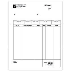 Laser AR Invoice For ACCPAC 8