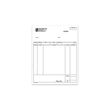 "Laser A/R Invoice For Great Plains®, 8 1/2"" x 11"", 1 Part, Box Of 250"