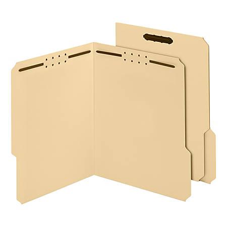"Pendaflex® Smart Shield™ Fastener Folders, Letter Size, Manila, 2 Embedded Fasteners, 3/4"" Expansion"