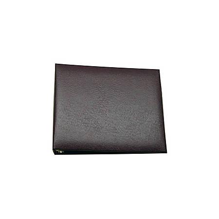 "Home Desk Binder, Premium Style 28, 9"" x 11 1/2"", Black"