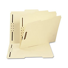 Smead Top Tab Fastener Folders With